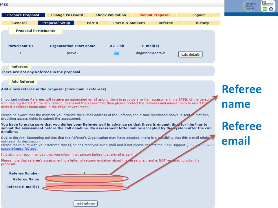 Referee name Referee email [EPSS] 44